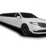 12 Passenger Stretch Limousines (Silver & White)