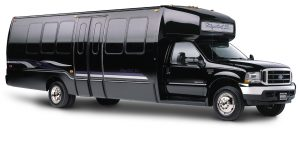 26 Passenger Limo Bus Party Bus